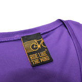 Women's RIDE LIKE THE WIND - Life Behind Bars Downhill - Premium Dry Fit Breathable Sports V-Neck T-SHIRT - tee top cycling cycle bicycle jersey t shirt