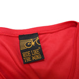 FB Ride Like The Wind Womens Cycling Tee - Busy Being A Rider - V Neck Dry Fit Performance T-Shirt