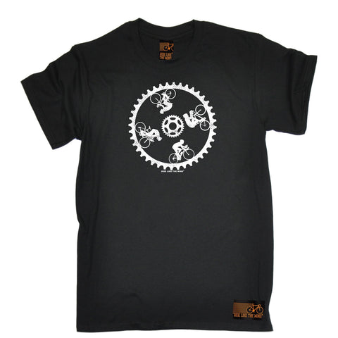 Ride Like The Wind Men's Cycling Wall Of Death T-Shirt