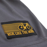 Men's RIDE LIKE THE WIND - Bike Chain Pocket - Premium Dry Fit Breathable Sports T-SHIRT - tee top cycling cycle bicycle jersey t shirt