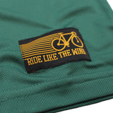 Men's RIDE LIKE THE WIND - Bicycle Logo - Premium Dry Fit Breathable Sports T-SHIRT - tee top cycling cycle bicycle jersey t shirt