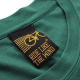 FB Ride Like The Wind Cycling Tee - Mud Sweat Gears - Dry Fit Performance T-Shirt
