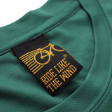 FB Ride Like The Wind Cycling Tee - Drop Bars - Dry Fit Performance T-Shirt