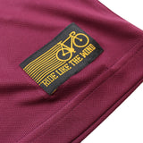 Men's RIDE LIKE THE WIND - Bicycle Chemicle Chain - Premium Dry Fit Breathable Sports T-SHIRT - tee top cycling cycle bicycle jersey t shirt