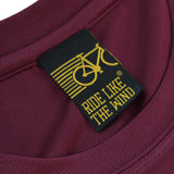 FB Ride Like The Wind Cycling Tee - Head In The Clouds - Dry Fit Performance T-Shirt