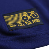 Men's RIDE LIKE THE WIND - Bicycle Fish Van - Premium Dry Fit Breathable Sports T-SHIRT - tee top cycling cycle bicycle jersey t shirt