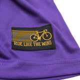 FB Ride Like The Wind Cycling Tee - Two Wheels Move The Soul - Dry Fit Performance T-Shirt