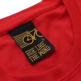 FB Ride Like The Wind Cycling Tee - Adventure Before Dementia - Dry Fit Performance T-Shirt