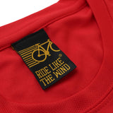 FB Ride Like The Wind Cycling Tee - Warning Cycling - Dry Fit Performance T-Shirt