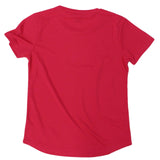 Ride Like The Wind Cycling Ladies Tee - A Good Bike Ride Fixes Everything - Round Neck Dry Fit Performance T-Shirt