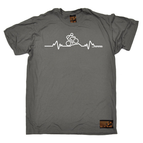 Ride Like The Wind Men's Mountain Bike Pulse Cycling T-Shirt