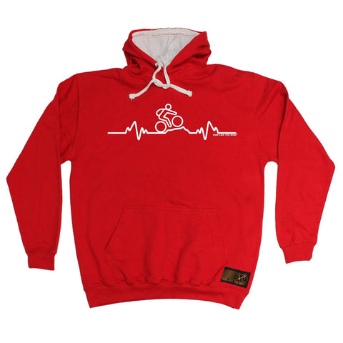 Ride Like The Wind Mountain Bike Pulse Cycling Hoodie