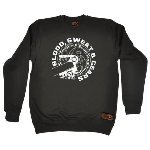 Ride Like The Wind Blood Sweat & Gears Cycling Sweatshirt