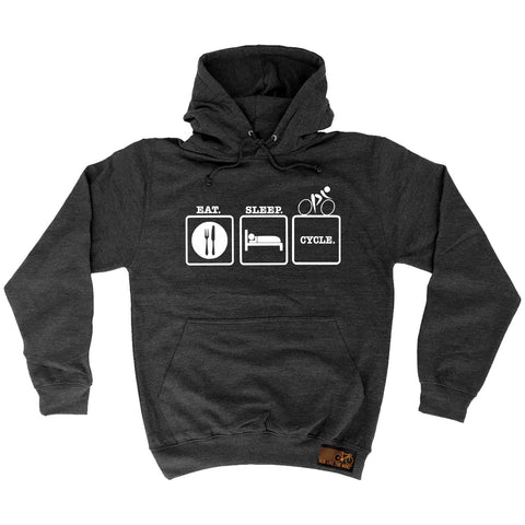 Ride Like The Wind Eat Sleep Cycle Cycling Hoodie