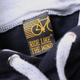FB Ride Like The Wind Cycling Tee - Dark Side -  Womens Fitted Cotton T-Shirt Top T Shirt