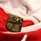 FB Ride Like The Wind Cycling Tee - Words -  Womens Fitted Cotton T-Shirt Top T Shirt