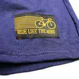 FB Ride Like The Wind Cycling Tee - Thats How I Roll -  Womens Fitted Cotton T-Shirt Top T Shirt