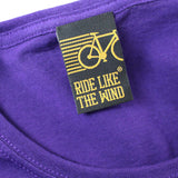 FB Ride Like The Wind Cycling Tee - Ride Like U Stole -  Womens Fitted Cotton T-Shirt Top T Shirt