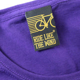 FB Ride Like The Wind Cycling Tee - Blood Sweat Gears -  Womens Fitted Cotton T-Shirt Top T Shirt