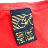 FB Ride Like The Wind Cycling Tee - Bike Life Behind Bars -  Womens Fitted Cotton T-Shirt Top T Shirt