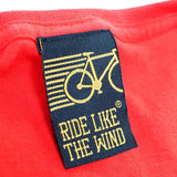 FB Ride Like The Wind Cycling Tee - No Emissions -  Womens Fitted Cotton T-Shirt Top T Shirt