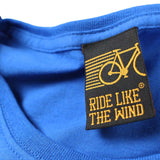 FB Ride Like The Wind Cycling Tee - Before It Was Cool -  Womens Fitted Cotton T-Shirt Top T Shirt