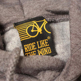 FB Ride Like The Wind Cycling Tee - 0 Emission -  Womens Fitted Cotton T-Shirt Top T Shirt