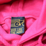 FB Ride Like The Wind Cycling Tee - I Wonder Bike -  Womens Fitted Cotton T-Shirt Top T Shirt