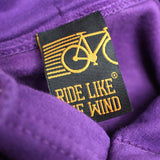 FB Ride Like The Wind Cycling Tee - Bicycle Club -  Womens Fitted Cotton T-Shirt Top T Shirt