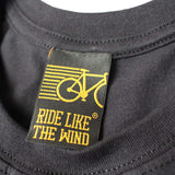 FB Ride Like The Wind Cycling Tee - Why Walk - Mens T-Shirt