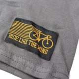 Ride Like The Wind Cycling Tee - Wheel Crossbones - Mens T-Shirt