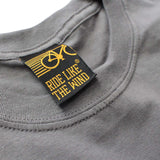 FB Ride Like The Wind Cycling Tee - No Gears No Fear - Mens T-Shirt