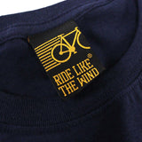 FB Ride Like The Wind Cycling Tee - Head In The Clouds - Mens T-Shirt