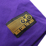 Ride Like The Wind Cycling Tee - Bike Part Words - Mens T-Shirt