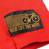 Ride Like The Wind Cycling Tee - Warning May Spontaneously Start Talking About Cycling - Mens T-Shirt