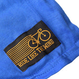 Ride Like The Wind Cycling Tee - When In Doubt Pedal It Out Gray Crank - Mens T-Shirt