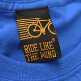 Ride Like The Wind Cycling Tee -  Emissions 1 Emotion - Mens T-Shirt