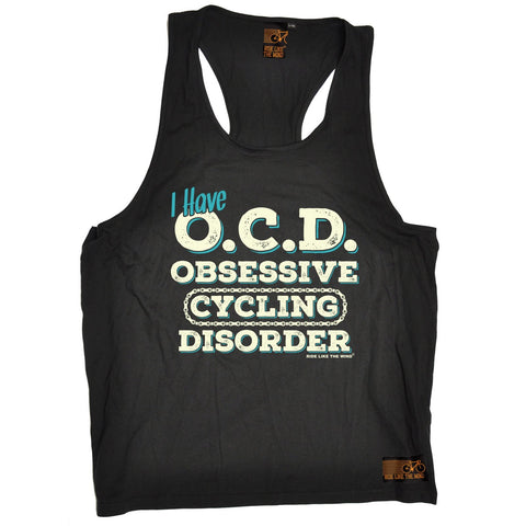Ride Like The Wind I Have OCD Obsessive Cycling Disorder Men's Tank Top