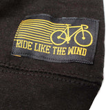 Ride Like The Wind Cycling Sweatshirt - Bike Part Words - Sweater Jumper