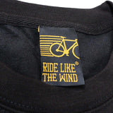Ride Like The Wind Cycling Sweatshirt - Tired Of Being Fat And Ugly - Sweater Jumper