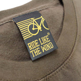 FB Ride Like The Wind Cycling Sweatshirt - No Gears No Fear - Sweater Jumper