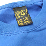 FB Ride Like The Wind Cycling Sweatshirt - Too Many Bicycles - Sweater Jumper
