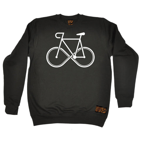 Ride Like The Wind Infinity Bike Design Cycling Sweatshirt