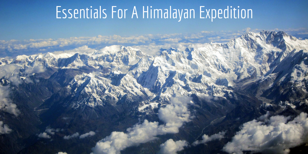 Essentials For A Himalayan Expedition