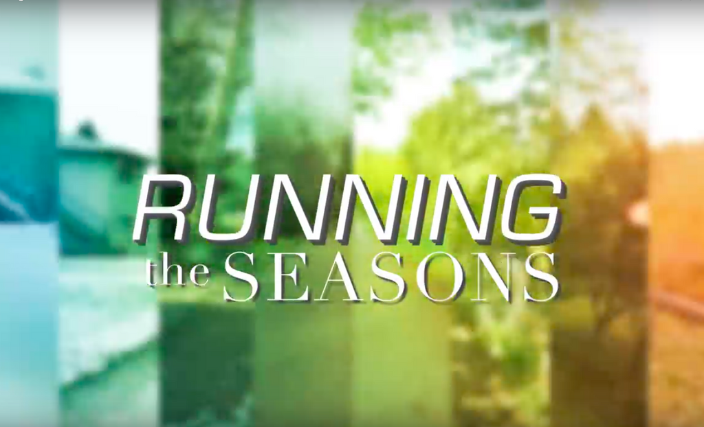 Running The Seasons - Beautiful GoPro Video of a guy running through the seasons.