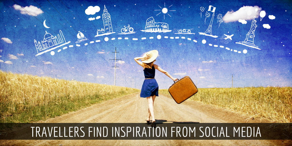 60% Novice Travellers Find Inspiration From Social Media