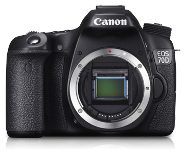 Canon EOS 70D DSLR Camera - Auto Focus Photography Tutorial