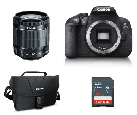 Canon 700D (Body With Lens)