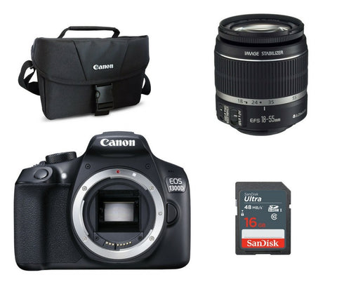 Canon 1300D (Body With Lens)