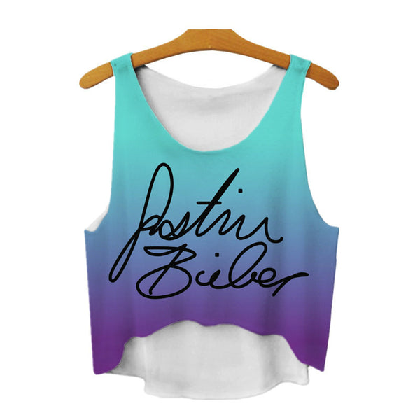 Justin Bieber Save Water Women Tank Top - Muse Raven - Dream Out Loud